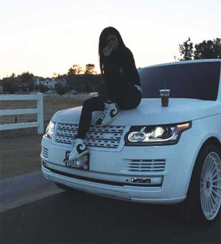 Kylie Jenner car