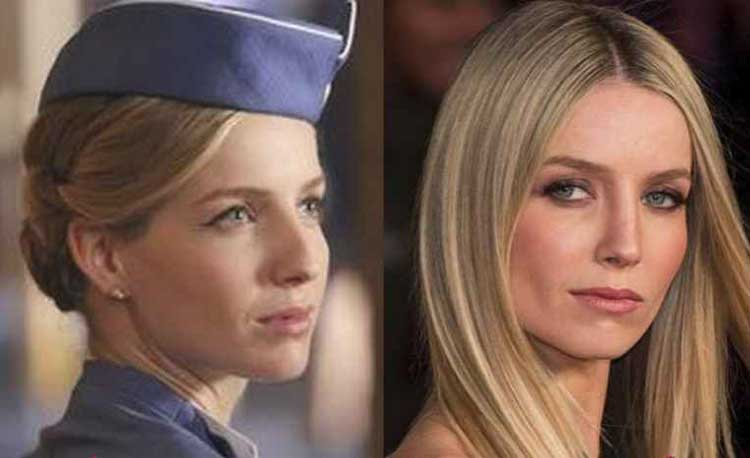 Annabelle Wallis Nose job