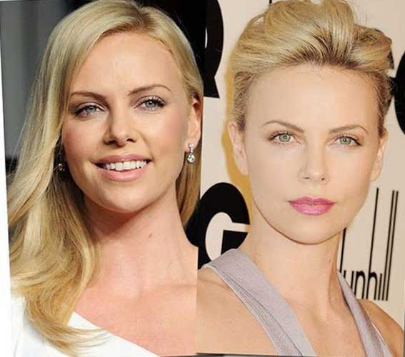 Charlize Theron Plastic Surgery Nose Job Facelift Eyelid Surgical