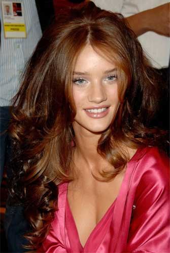 Rosie Huntington Whiteley before and after
