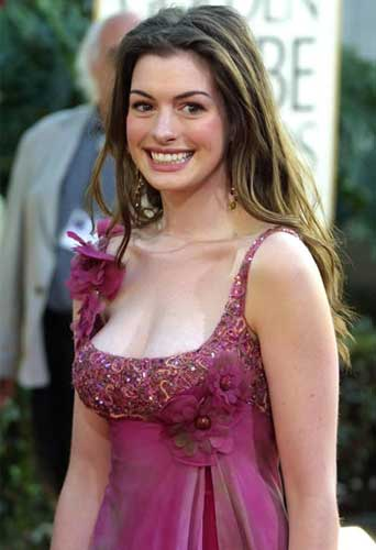 Anne Hathaway Before and After